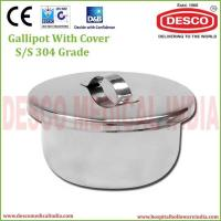 Quality Gallipot With Cover S/S 304 Grade for sale