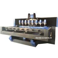 Quality 4 Axis Multi Head Stone Statue Carving Machine to Improve Efficiency for sale
