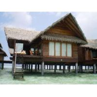Quality Overwater Bungalow / Prefab House For Resort Water Bungalow for sale