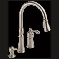 Quality Single Handle Pull-Down Kitchen Faucet for sale