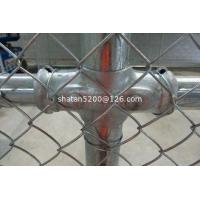 China Supplier Black Colors of Residential Chain Link Fence