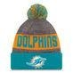 China 2016 Miami Dolphins New Era Sideline Beanie