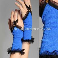 Buy cheap Women's Lingerie Sapphire Floral Mesh Flounce Gloves from wholesalers