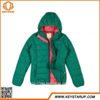 Quality China Manufacturers Colorful Ladies Jacket Zipper Winter Coat Ultra Light Women Outerwear for sale