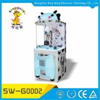 Coin Operated Candy Crane Machine Type Candy Vending Machine Fity Claw Game Machine