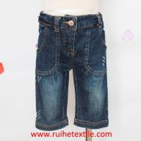 Quality Fashion Cotton Denim Trousers Casual Jeans for Girls for sale