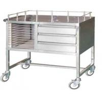 Quality Hospital Crash Cart Emergency Trolley Suppliers for sale
