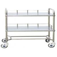 Quality Stainless Steel Medical Instrument Trolley with Power Source Seat for sale