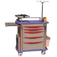 Buy cheap ABS Hospital Emergency Trolley Made in China from wholesalers