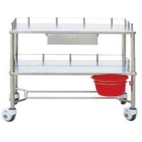 Quality Stainless Steel Three Layers Instrument Table Trolley for sale