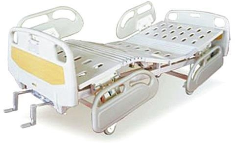 China Manual Hospital Beds with CPR,X-RAY,Central Brakes