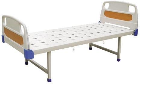 China Single Crank Bed Steel Material Manual Hospital Bed