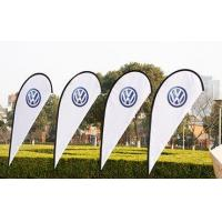Quality Advertising Flying Banner Stand Teardrop Beach Flag for sale