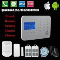 Wireless Touch Keypad GSM/PSTN Alarm system with LCD display
