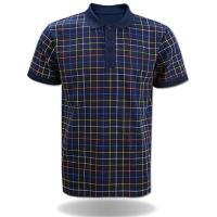 Buy cheap Embroidered Mens' Cotton Polo Shirt Of Short Sleeve from wholesalers