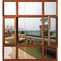 Aluminum wood doors and windows series