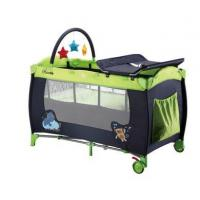 Baby Trave Cot Baby Play Yard Baby Playpen with Luxury Changing Table for Diaper Changing