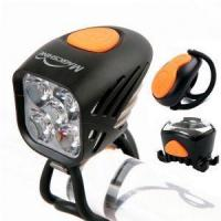China MJ-906 Led Power Beam Mountain Bike Lights Kit With 5000 Lumen Front Light For Night Rider on sale