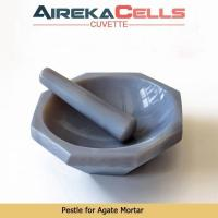 Quality 100mm,Set, MP100A, Agate mortar and pestle, thick walled, polished for sale