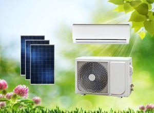China ACDC Split Dual Power On Grid Hybrid Solar Air Conditioner Wall Split Type