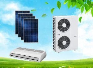 China ACDC On Grid Solar Air Conditioner Floor Ceiling Type High Quality