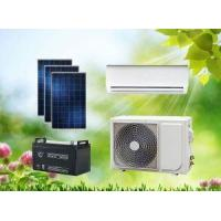 Quality ACDC Hybrid Solar Air Conditioner Split Wall-Mounted Type for sale