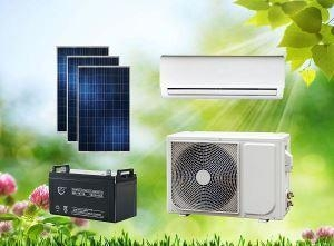 China ACDC Hybrid Solar Air Conditioner Split Wall-Mounted Type