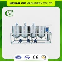 Buy cheap Cheap Family Use 304 Stainless Steel Crude Palm Oil Refinery MR-4 from wholesalers