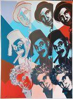 Quality Andy Warhol Ii.232 The Marx Brothers 1980 | Hand Signed Screenprint More Avail for sale