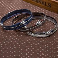 Buy cheap Braided Rope Magnetic Leather Bracelet With Crystal And Metal Accessories from wholesalers