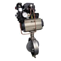 Quality EDB Butterfly Valve with positioner for sale