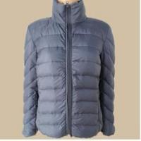 Quality PF-103 OEM ultra thin foldable down jacket for women for sale