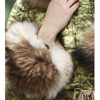 Buy cheap PFF-22 fashion women winter jackets with big collar from wholesalers