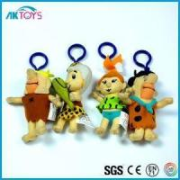 Quality Little Size|Cartoon Soft Plush Keychain Toys That Is Cheap And Fashion for sale