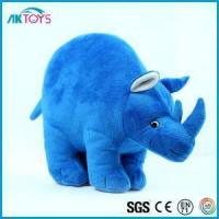 Quality Rhinoceros Plush Toys With Super Soft Material, Rhinoceros Plush With Environment Material Baby Can for sale