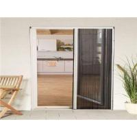 Quality Retractable Pleated Plisse Insect Fly Screen Door Frame for sale