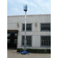 Quality Aluminum-alloy Aerial Working Platform For More Mast Two Mast Single Mast for sale