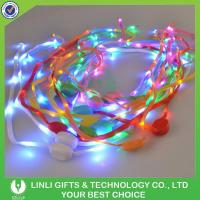 China Led Nylon Light Up ShoeLaces Crazy Led Glow Shoelaces on sale