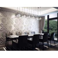 Quality Plant Fiber 3D Decoration Home Decor Embossed 3D Board Panels for Wall and Ceiling Decoration for sale