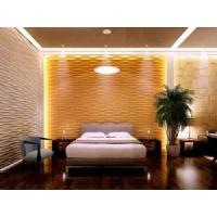 Quality Plant Fiber Decorative Mural 3D Wallpaper 3D Wood Wall Panels for Home Deco for sale