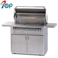 China 42-in Stainless Steel Natural Gas BBQ Grill On Cart on sale