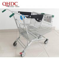 disabled 4 wheel shopping trolley with brake JHD-D-240