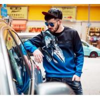 Quality Autumn Mens sweatshirt with new design printed in whilesale for sale