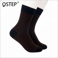 Quality Fancy design bamboo wood fiber breathable anti odor sock for sale