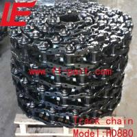 China HD880 Kato Excavator Track chain/Track link assy on sale