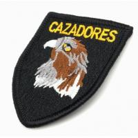 Quality Logo embroidered military patch for uniform for sale