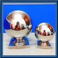 China Stainless Steel Gazing Handrial Balls for Square Tube on sale