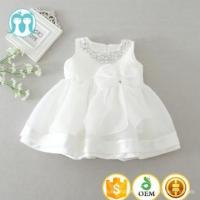 Buy cheap 2017 wholesale 0-2Y baby kids dresses with diamonds beading many layers new frocks in white from wholesalers