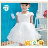 Quality New Model Grid Sweet Honey Party Girl Dress Cute Cotton girl party dress child wear for sale