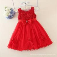 Buy cheap Kids red clothes 2015 children fashion sleeveless girl dress with Child wholesale dresses chinese from wholesalers